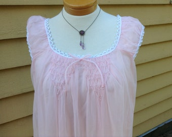 Soft Pink Nightgown Edward Saykaly