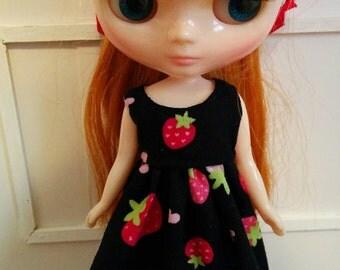 Strawberry Love Middie Dress