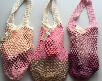 Crochet market/beach bag