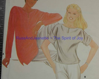SIze 12 14 16 Blouse Shirt Top Butterick 3623   Vintage Womens Misses  Uncut Sew Sewing Pattern