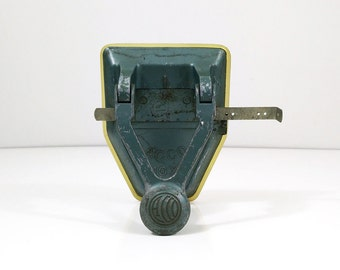 Vintage ACCO double hole punch / Industrial office decor