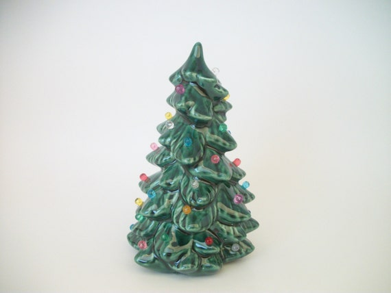Mini Ceramic Christmas Tree With Ornaments In By Tlcceramicsil