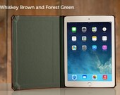 CLEARANCE - Walden Collection for iPad Air 2 - Whiskey/Forest Green