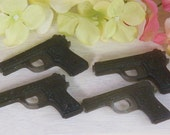 gun soap glycerin soap set of 2 guns