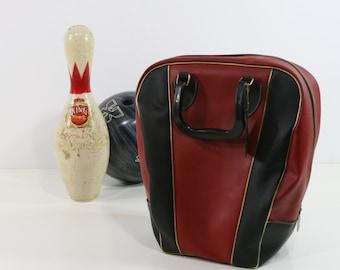 Vintage Clark Bowling Ball Bag