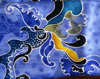 Batik Silk Fabric