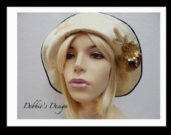 Women's Handmade Cloche Hat-414 Handmade, Womens, Cloche, Womens Hats, Lightweight, Accessories, Hats, Folk, Hair