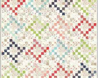 Vintage Picnic - Summer Picnic Quilt Pattern by Jane Davidson for Want it Need it Quilt