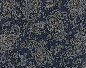 Lizzie's Legacy - Homestead in Indigo by Betsy Chutchian for Moda Fabrics