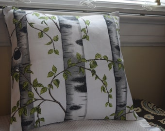 Birds and Trees Pillow covers