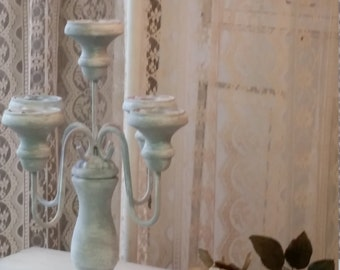 Candelabra, Shabby chic, French Country, Farmhouse