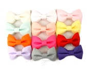 Fabric Bows 2.5 inch - Fabric Bow Headband, Bow Tie, Hair Bows, Tuxedo Bow, Bows for Girls, Hair Bows for Girls, Hair Bows for Babies