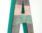 """Reclaimed Wood Look - 8"""" Letters & Numbers - Custom"""