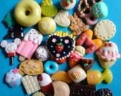 Sale sale--Kawaii decoden deco diy charm cabochons sweets mix # 116   more than 30 pcs---USA seller