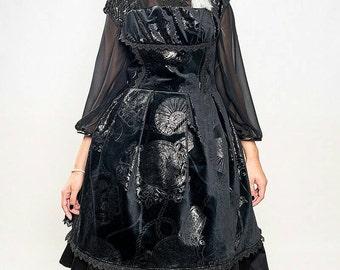 SALE - Gothic Lolita Velvet dress