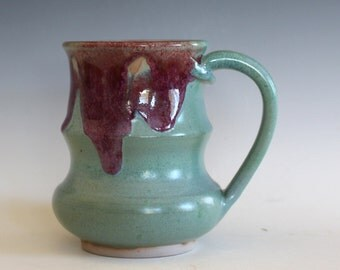 Coffee Mug, 17 oz, handmade ceramic cup, ceramic stoneware mug, coffee cup