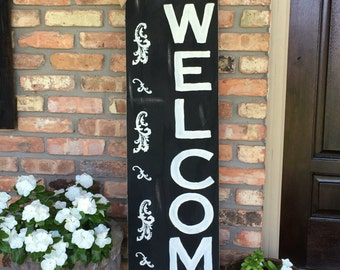WELCOME Personalized Front Porch Sign