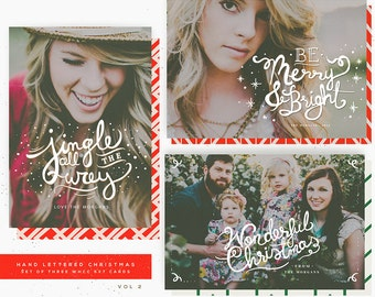 Hand Lettered Christmas 5x7 WHCC Cards