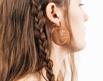 SALE Horizons Wooden Nomad Earrings
