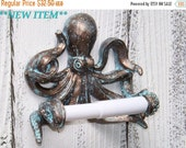 Octopus~Toilet Paper Holder~Octopus Toilet Paper Holder~Octopus Decor~Beach~Nautical
