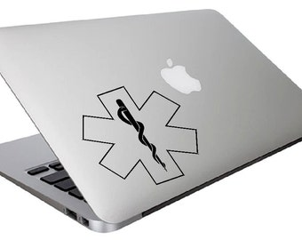 EMS, Ems Decal, Ems Sticker, EMS MacBook, EMS MacBook Decal, Mac Book Decal, mac book decal design, emt decal, emt sticker ,emt macbook