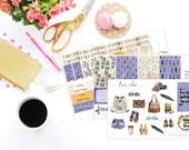 SALE - Boho Chic - Happy Planner stickers