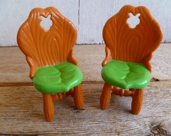 Strawberry Shortcake Happy Home  2 Dining Chairs