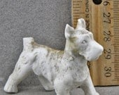 Antique Excavated Dog  Vintage  Miniature German  Doll  Altered Art Oscarcrow