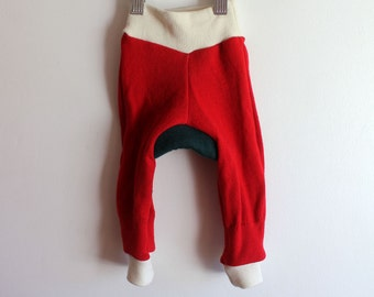 Lambswool Wool longies/ wool diaper cover Size Small