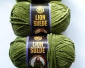 10 skeins reserved for ColorBazaar,Lion  Brand Suede Yarn