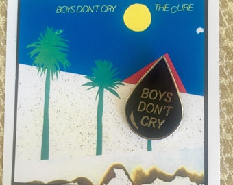 Enamel Pin: Boys Don't Cry