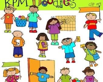25% OFF KPM Classroom helpers Digital Clip Art