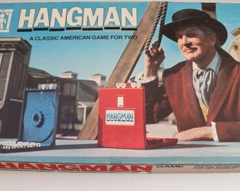 Vintage Hangman Board Game with Vincent Price 1976