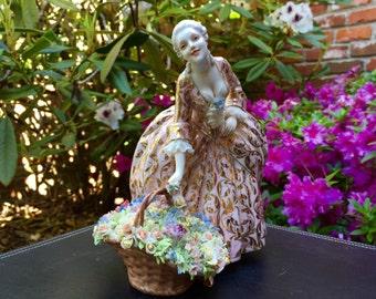Italy luiqi Fabris Fine Bone China Figurine