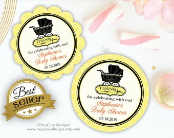 Baby Shower Favor Tags - Gender neutral - Baby Shower Gift Tags - Its a Girl, Boy
