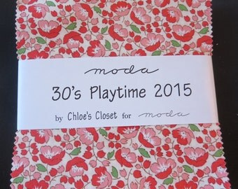 Moda's 30's Playtime 2015 by Chloe's Closet - Charm Pack