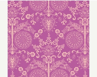 ON SALE - Imperial Fuchsia (BA-404) - Bazaar Style - Patricia Bravo for Art Gallery Fabrics - By the Yard