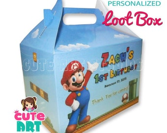 Printable Loot Box