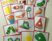 HUNGRY CATERPILLAR Food Picks for Birthday Party Food or Snack Table