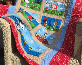 Charlie Brown Baby Quilt
