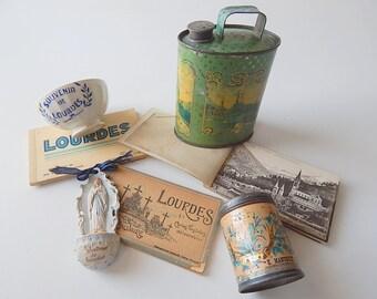 Lourdes Souvenirs Vintage French