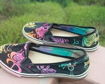 Tie Dye Rainbow Shoes O'Neil Brand | Women's size 6