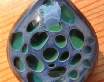 Boro Glass Lampwork Honeycomb Pendant Borosilicate Bead Collection
