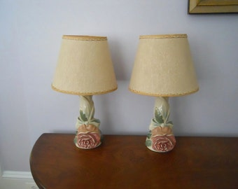 Dressing table lamps etsy for Dressing table lamp lighting