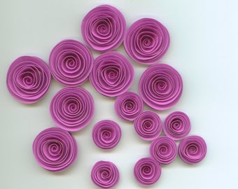 Orchid Handmade Spiral Paper Flowers