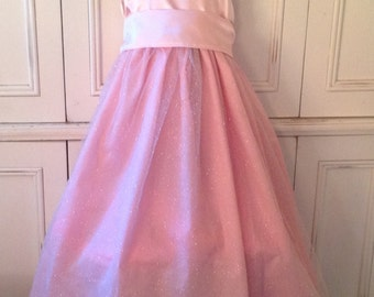 Glinda the Good Witch Wizard of Oz Halloween Costume size 2T 3T 4T 5 6 PINK