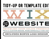 RESERVED FOR GRACE - 7 page Wix Website Tidy-Up Package