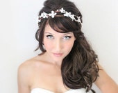 wedding accessories, bridal headpiece, wedding flower crown, Flower crown, rustic head wreath, wedding headband, bridal hair