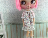 Blythe Smock Dress - Tiny Floral