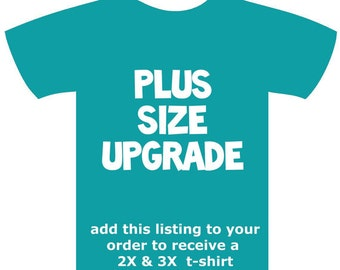 PLUS SIZE UpGRADE ONLY